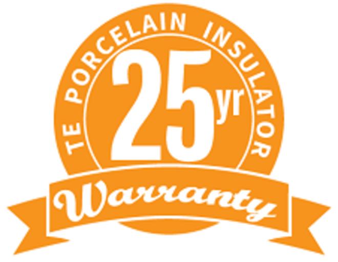 LV Shackle Porcelain Insulator - 205 image 3