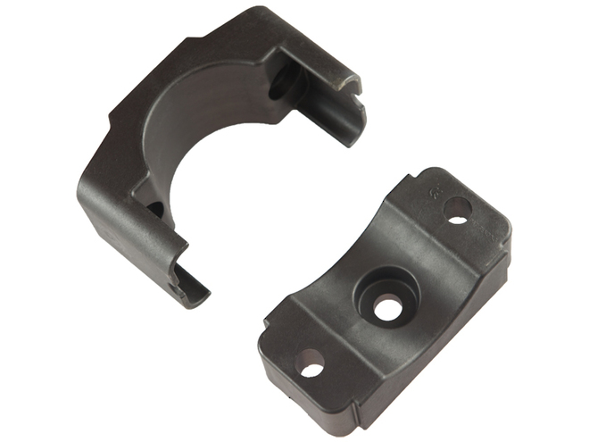 Dutch Clamp - Single Cable Clamps, With Centre Mounting Hole image 3