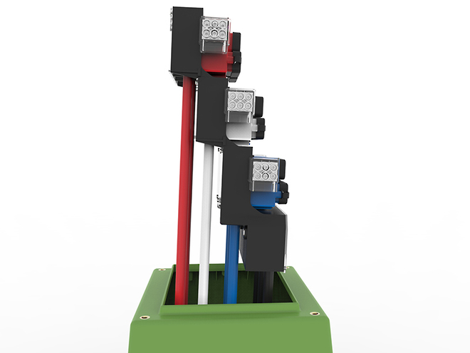 Tappat 3Way Open/Switching Point LV Link Pillar image 3