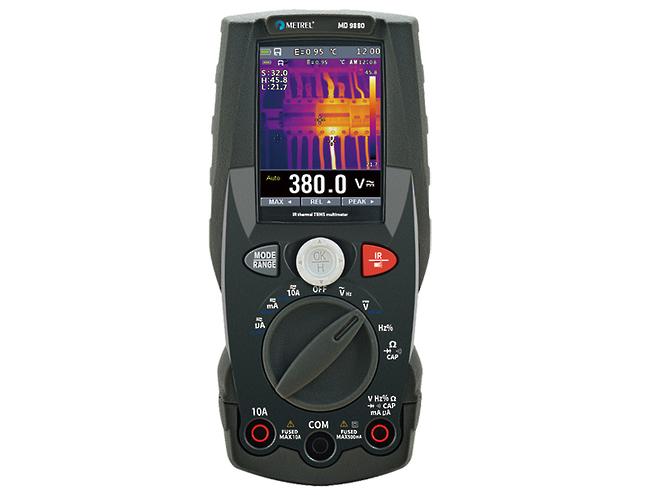 Metrel MD9880 2-in-1 Multimeter & Thermal Imaging Camera image 0