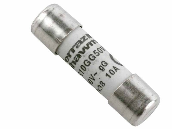HRC Fuse Link Cylindrical 10x38mm image 0