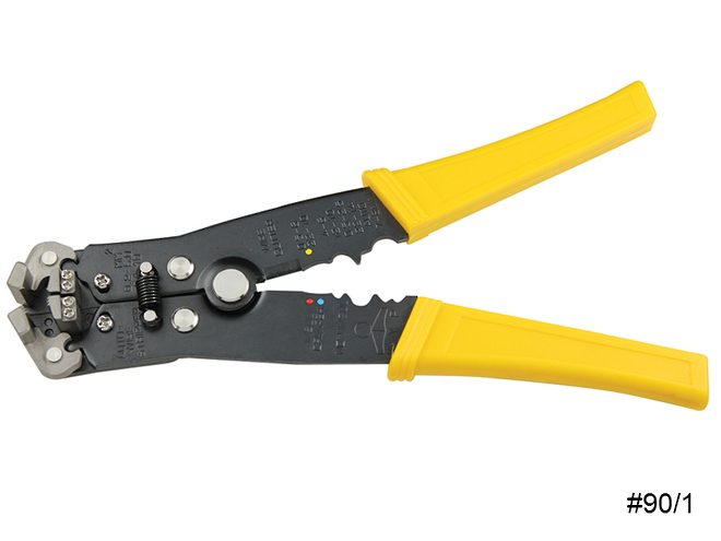 Automatic self-Adjusting Wire Strippers image 0