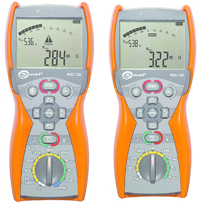 MIC-10 & MIC-30 Sonel Insulation Resistance Testers, IP67 image 0