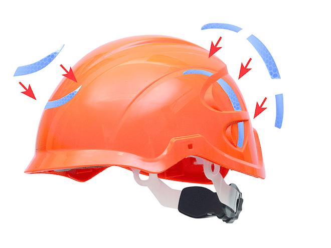 Nexus Helmet Reflective Sticker Kits image 0