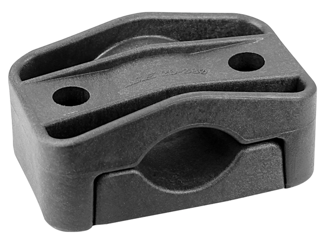 Dutch Clamp - Single Cable Clamps, Without Centre Mounting Hole image 0