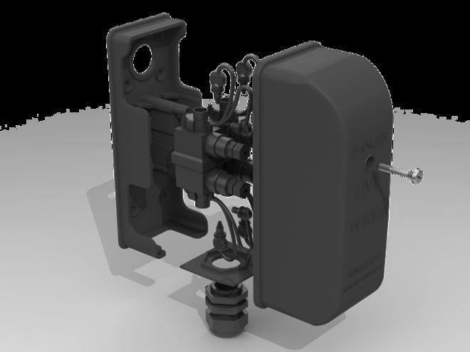 Mains Entry Box - NEW DESIGN image 1