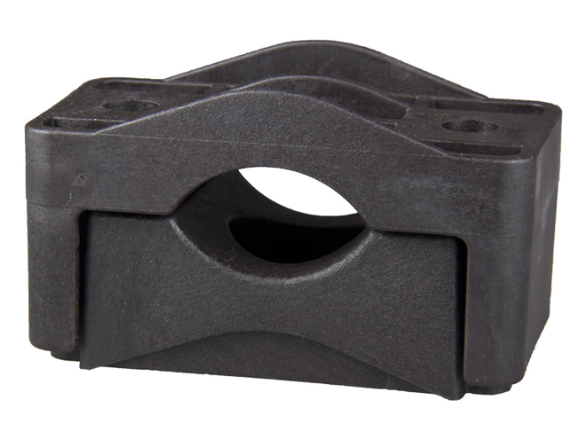 Dutch Clamp - Single Cable Clamps, With Centre Mounting Hole image 0