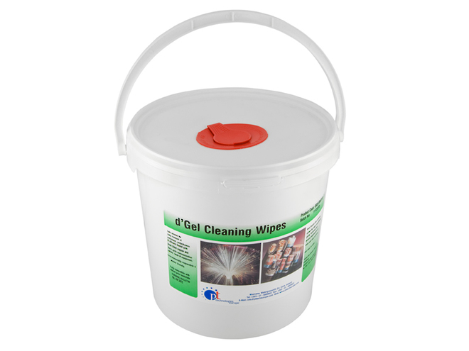 Fibre Optic Solvent Cleaning Wipes image 0