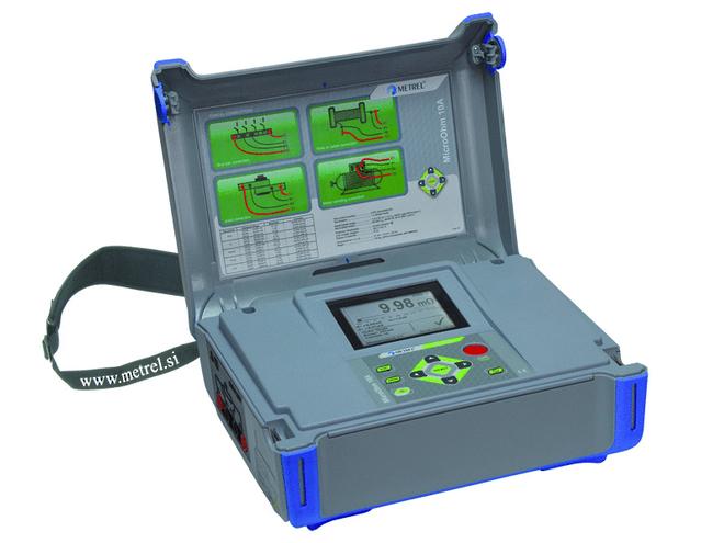 MI3250 Micro Ohm 10A Insulation Tester image 0