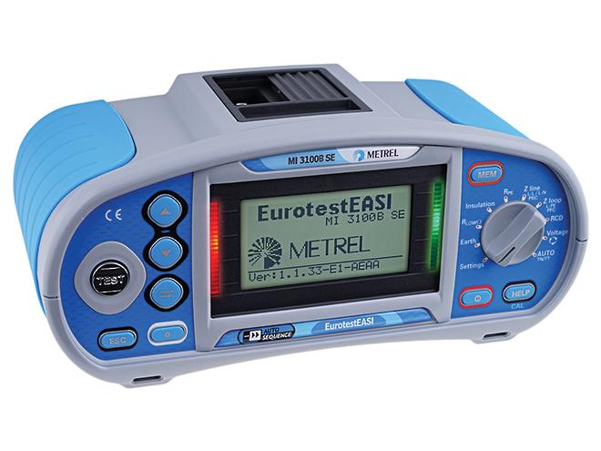 MI3100BSE EurotestEASI Installation Tester image 0