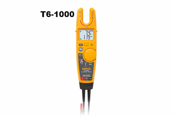 Fluke-T6-1000 & T6-600 Voltage & Continuity Testers image 1
