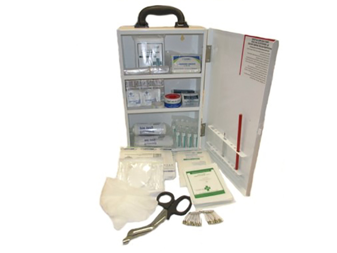 26-50 Person First Aid Kit in Metal Cabinet image 0