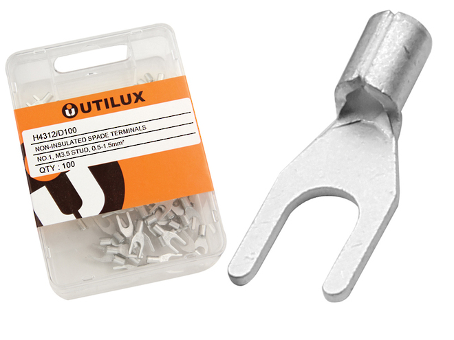 Un-insulated Fork Terminals image 1