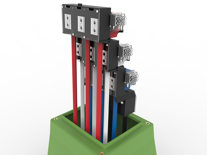 Tappat 3Way Open/Switching Point LV Link Pillar image 2