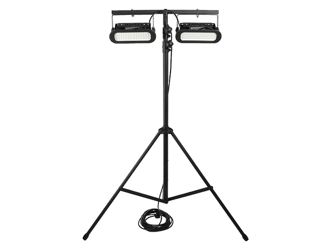 Portable LED Light Stand - 2x45W image 0