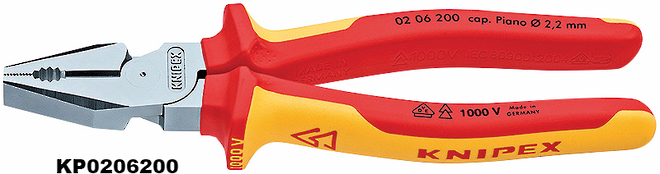 High Leverage Combination Pliers - Knipex image 0