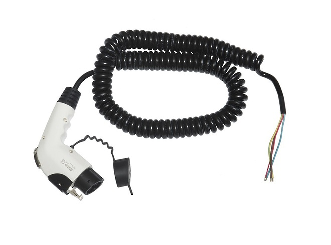 Bare to Type 1 or Type 2 Charge Cables image 0