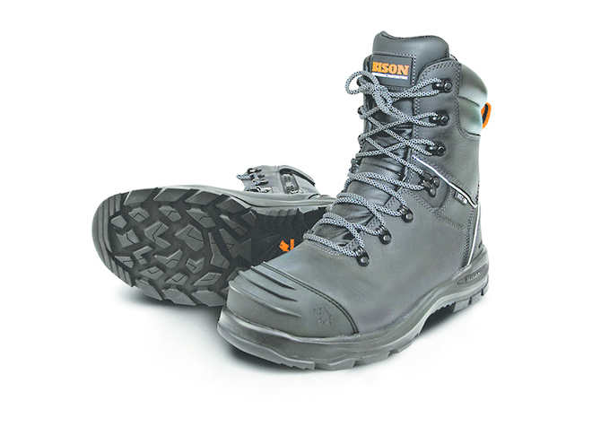 Bison XT Zip Lace Up Safety Boot image 2