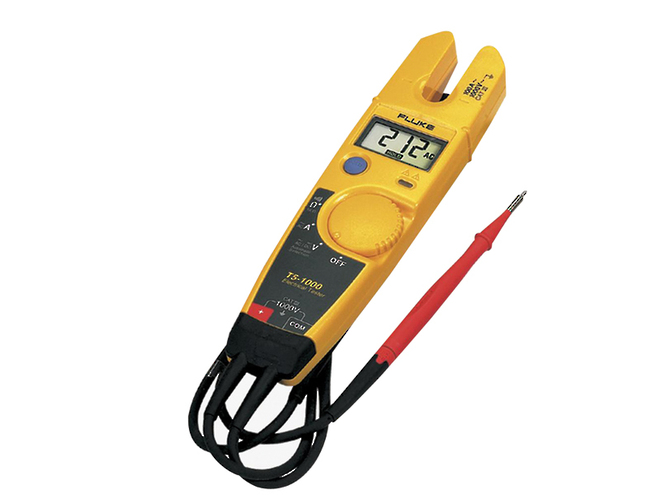 Fluke-T5-1000 & T5-600 Voltage & Continuity Testers image 0