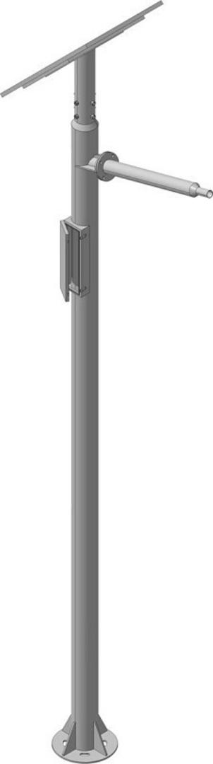 LEDSOLAR-ST20xxx - Solar LED Streetlight Kit, 20W image 2