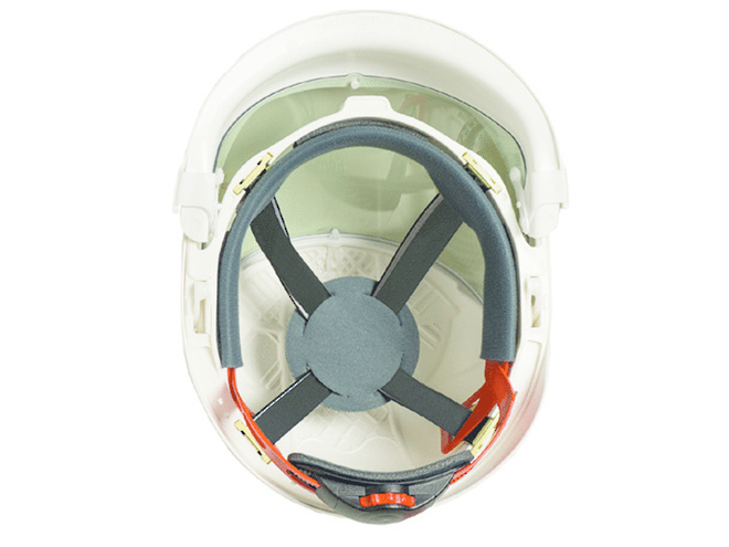 ErgoS Intec Power Helmet with Integrated Face Shield, 14 cal/cm2 image 3