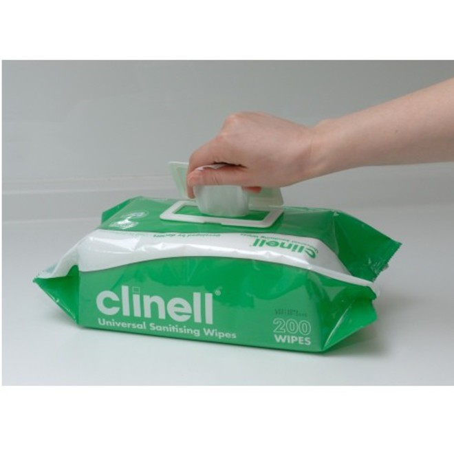 Clinell Cleaning & Disinfecting Wipes image 2