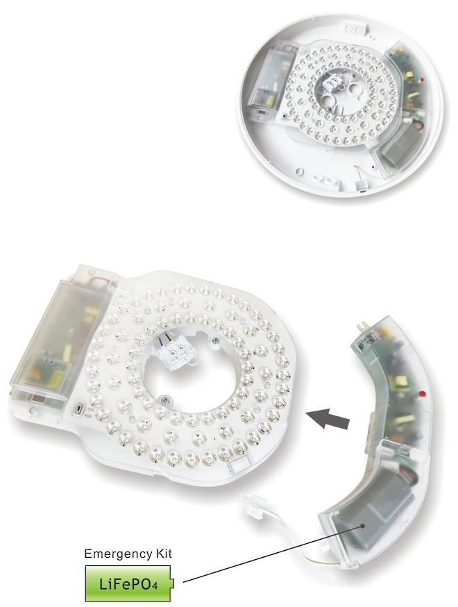 LEDBKHD-16SEN - Retail Ceiling Lamp image 2