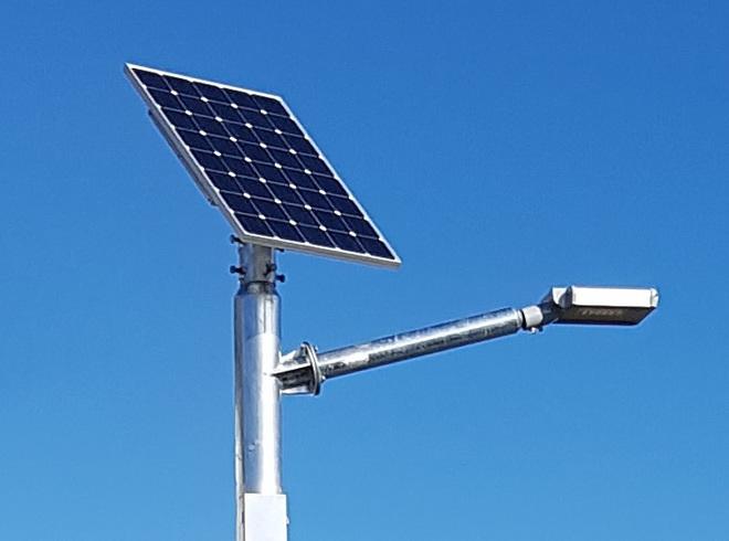 LEDSOLAR-ST20xxx - Solar LED Streetlight Kit, 20W image 0