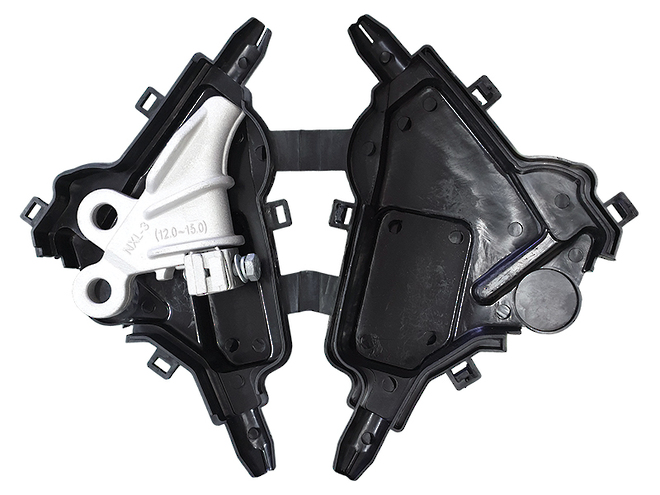 CCT Strain Clamps with Covers image 0
