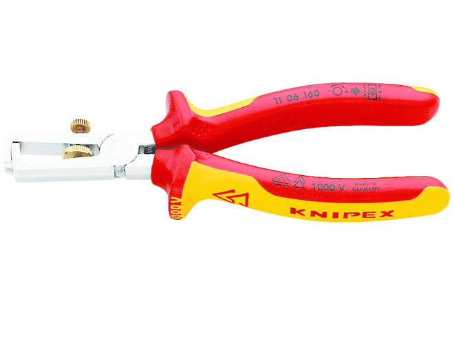 Insulation Wire Stripper - Knipex image 0
