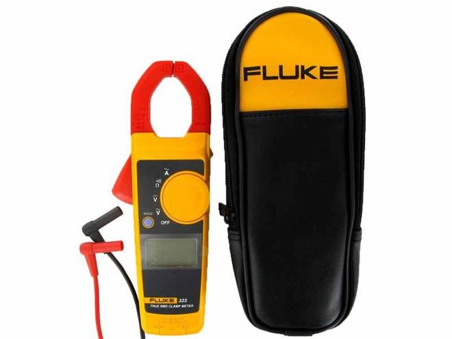 Fluke 323 True RMS Clamp Meter image 0
