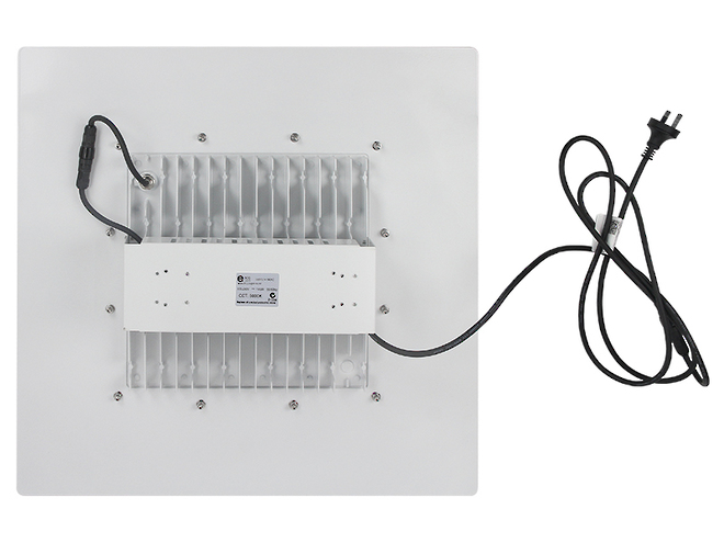 LEDCL14 - LED Recessed Industrial Canopy Lights image 1