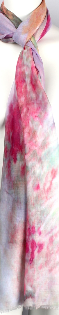 Alice & Lily printed  scarf pink Style:SC/4570/PNK image 0
