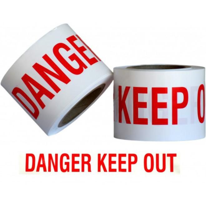 Danger KO WarningTape 300m image 0