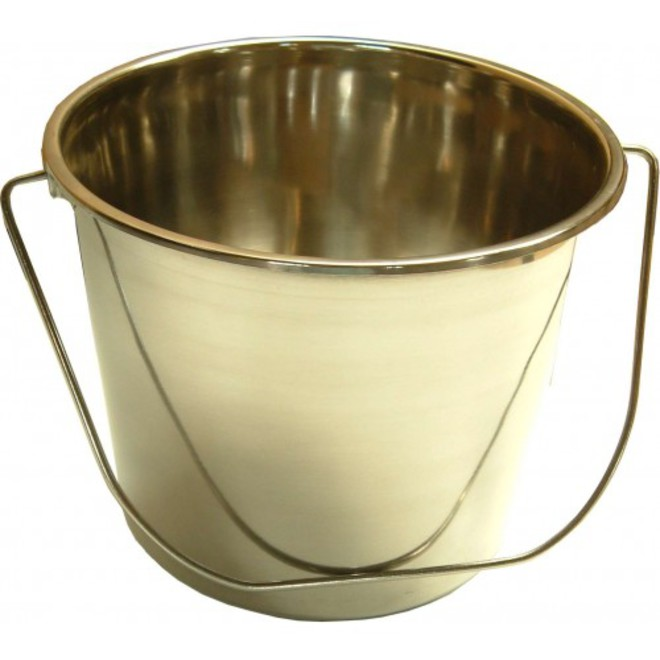 15L Stainless Steel Bucket image 0