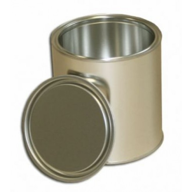 (1Lt) Metal Paint Tin & Lid image 0