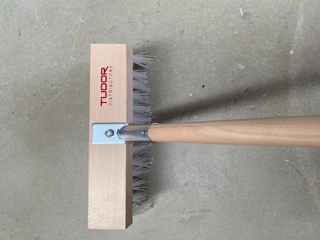 350mm (14 ) Poly Yard Broom image 0