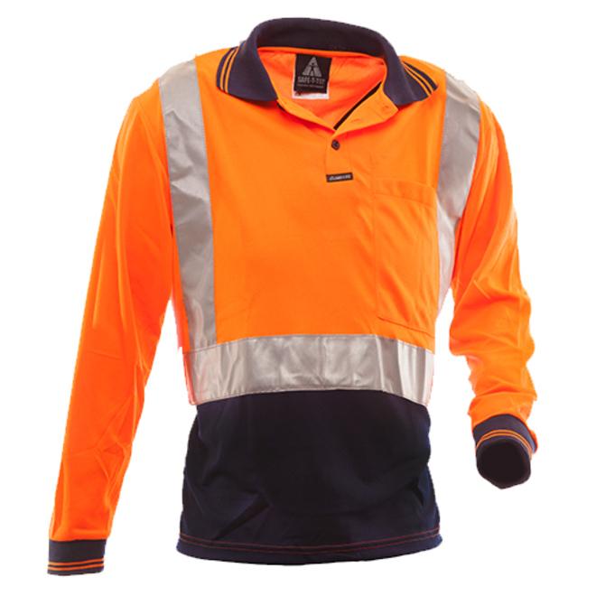 HIviz Long Sleeve Polo Shirt image 0