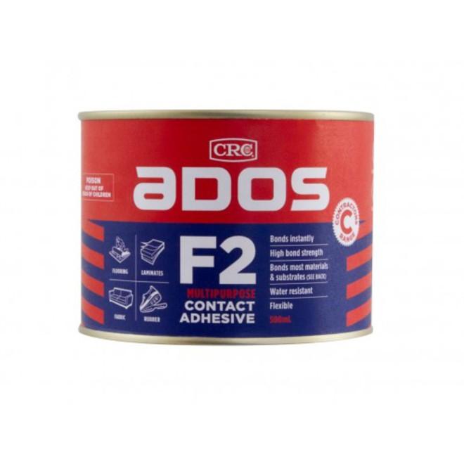 Ados F2 Glue 500ml Tin image 0