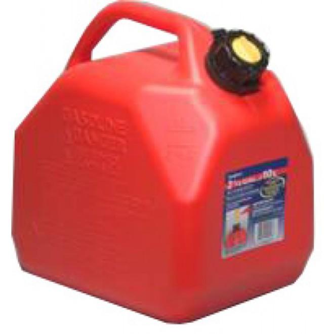 10Lt Plastic Petrol Can image 0