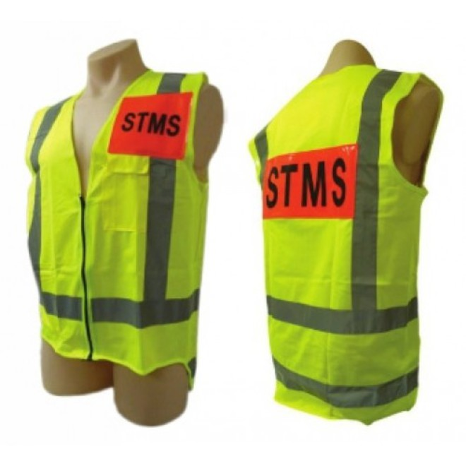 STMS Dayglo vest (all sizes) image 0