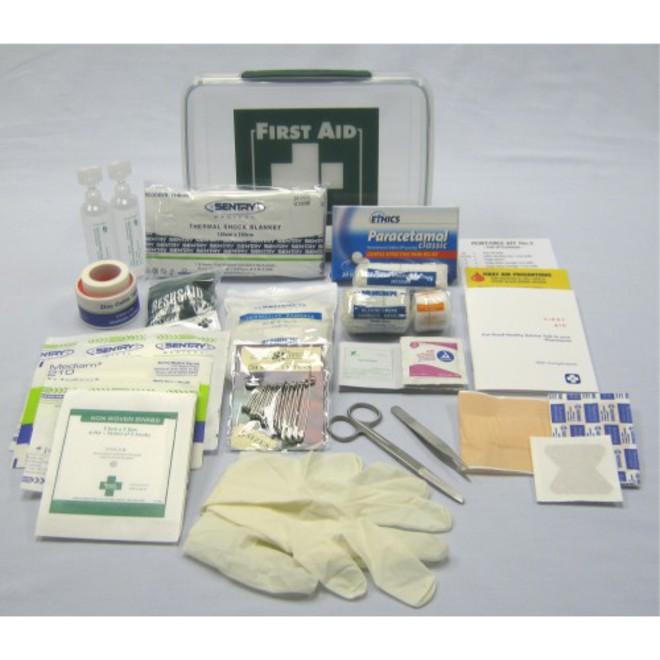 #2 First Aid Kit Plastic image 0
