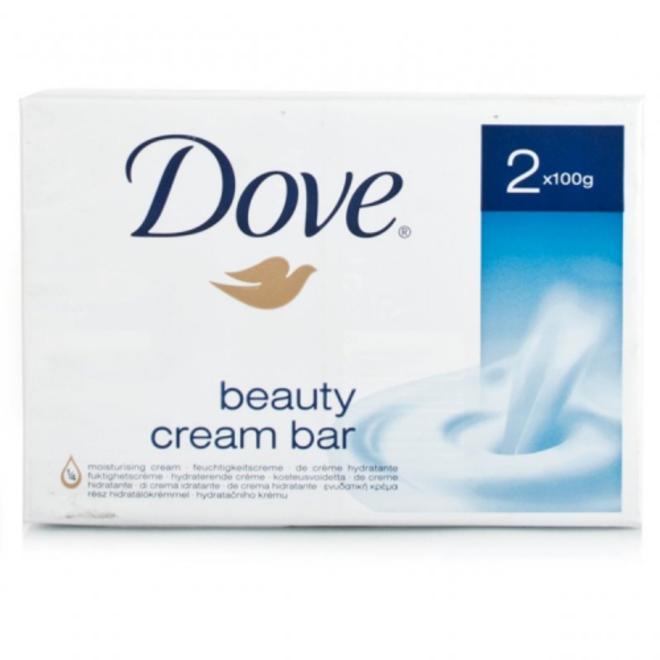 X2 Dove Soap Bar 100g image 0