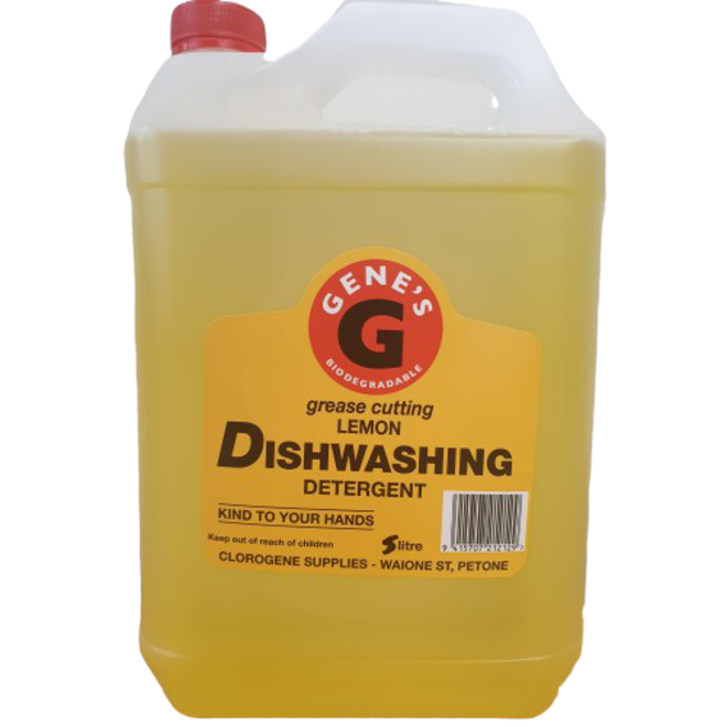 Genes5Ltr Dishwash Liquid Lemon image 0