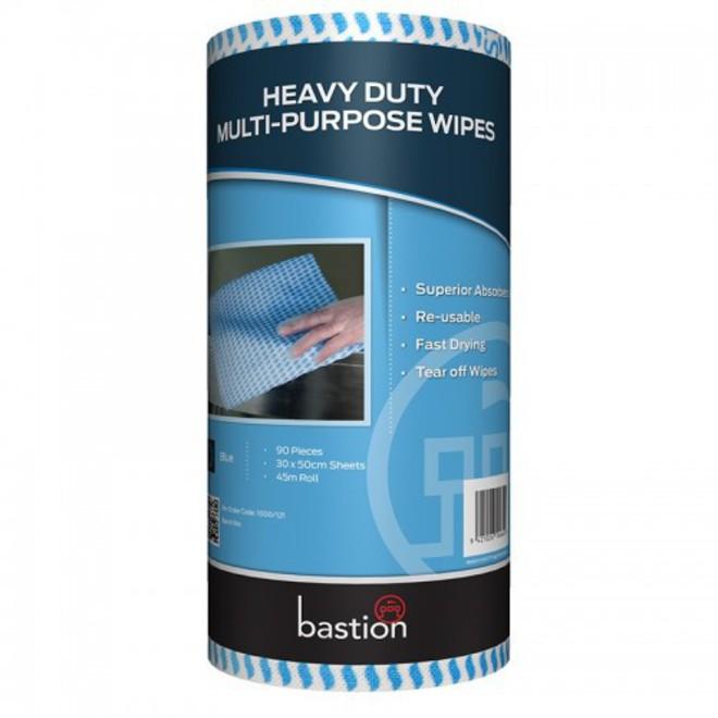 30x50cm Bastion Blue Wipes 90 image 0