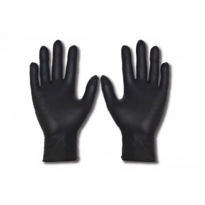 Nitrile Disposable Gloves (100 image 0