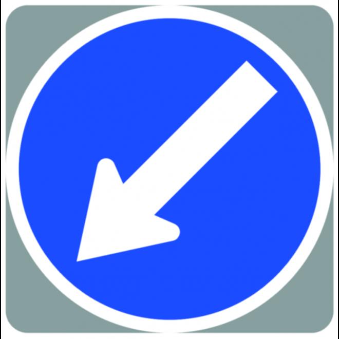 Aarow/Pedestrian Sign &Webbing image 0