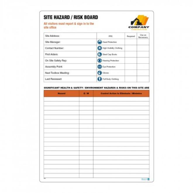 Hazard ID Board (10Line) image 0