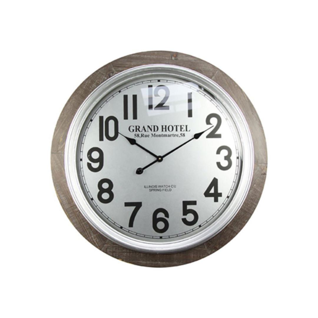 Rue Montmartre Wall Clock image 0