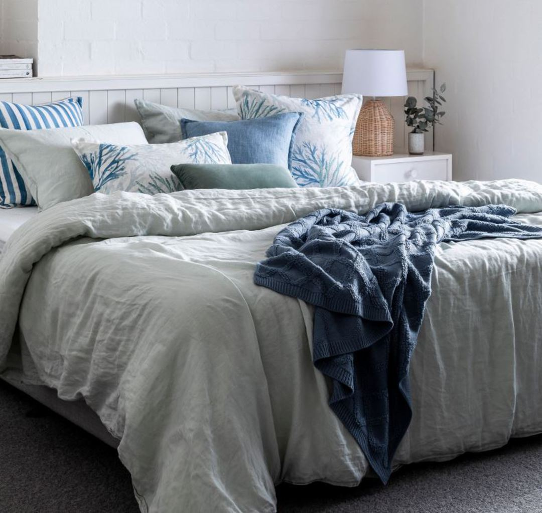Marine Blue Lumbar Cushion image 1